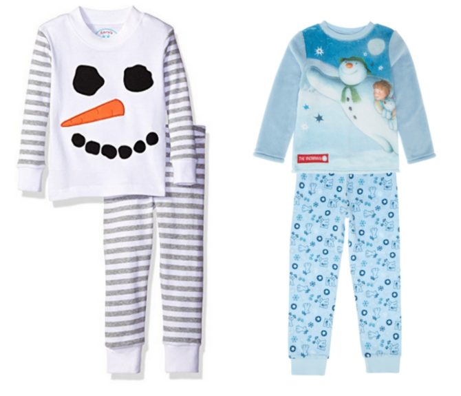 the-snowman-pajamas