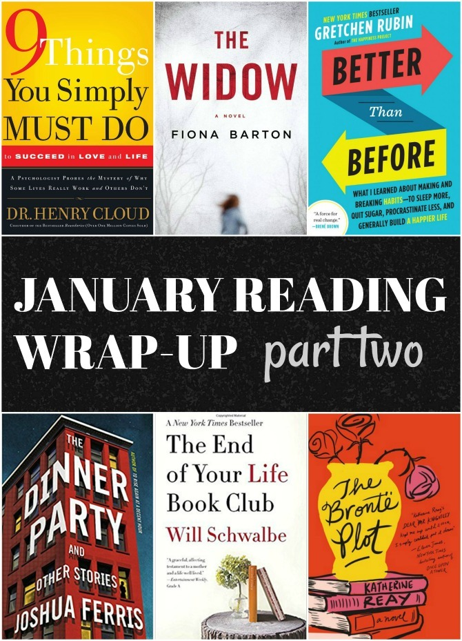 Quick Lit: Reading Wrap-Up, Part Two // January 2018   KendraNicole net