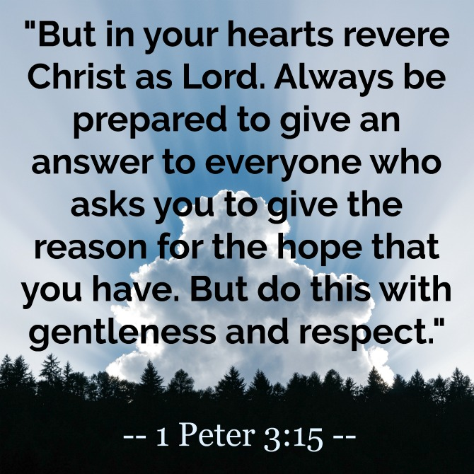 April Verse of the Month: 1 Peter 3:15 | KendraNicole.net