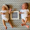 Sullivan Luke and Kalinda Joy // One Month Old