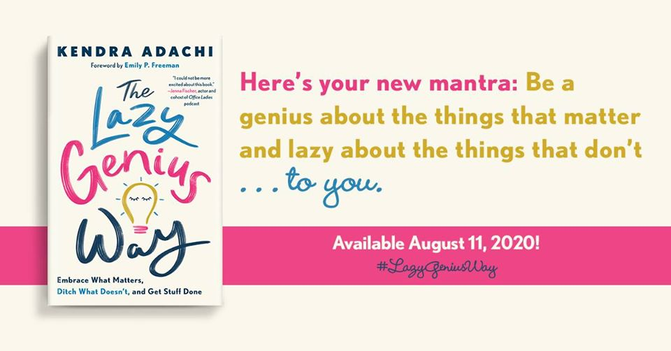 The Lazy Genius Way Book Review